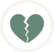 Relationship Separation Icon